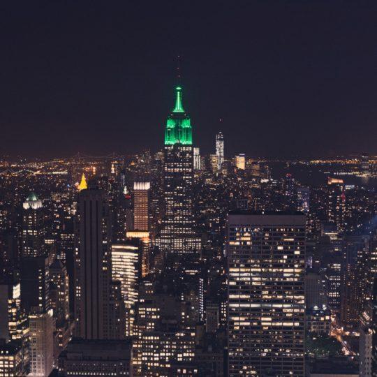 風景ニューヨーク エンパイアステートビルの Android スマホ 壁紙