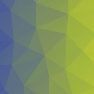 模様黄緑紫の Apple Watch 文字盤壁紙