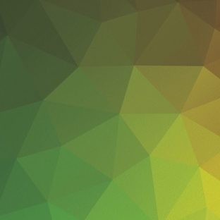 模様緑黄の Apple Watch 文字盤壁紙
