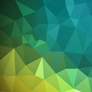 模様黄緑クールの Apple Watch 文字盤壁紙