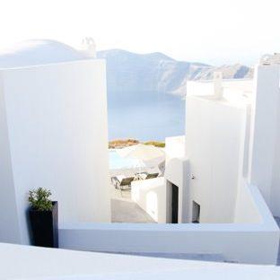 風景建物白の Apple Watch 文字盤壁紙