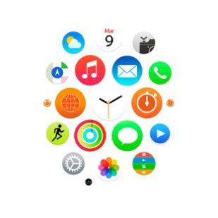 Apple Watch風白