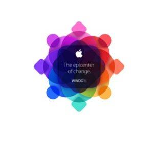AppleロゴカラフルWWDC15
