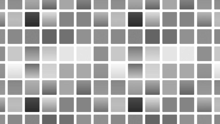 模様四角形モノクロの Desktop PC / Mac 壁紙