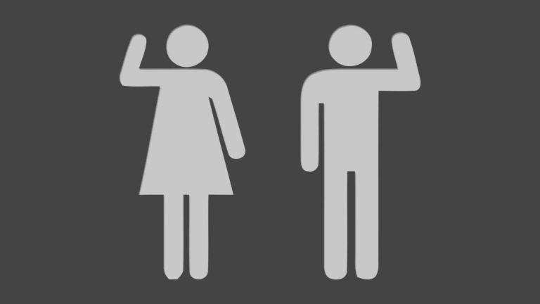 イラスト女性男性モノクロの Desktop PC / Mac 壁紙
