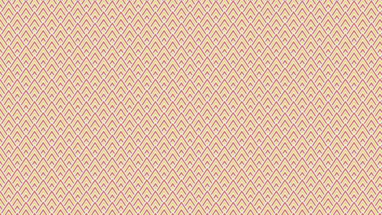 模様三角形赤橙の Desktop PC / Mac 壁紙