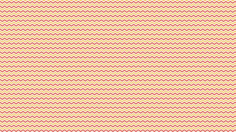 模様ギザギザボーダー赤橙の Desktop PC / Mac 壁紙