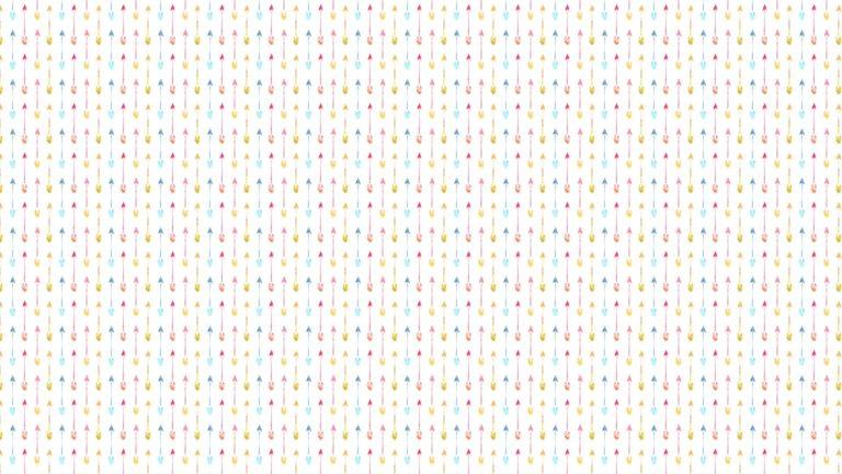 模様矢印カラフル女子向けの Desktop PC / Mac 壁紙