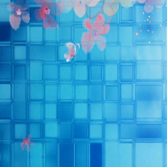 Flower tile Android SmartPhone Wallpaper