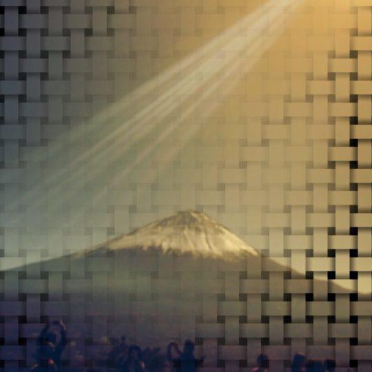 Mt. Fuji Mesh Android SmartPhone Wallpaper