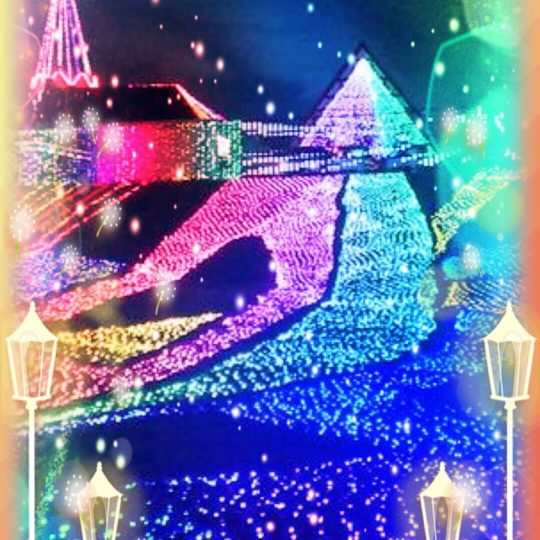Illuminations night view Android SmartPhone Wallpaper