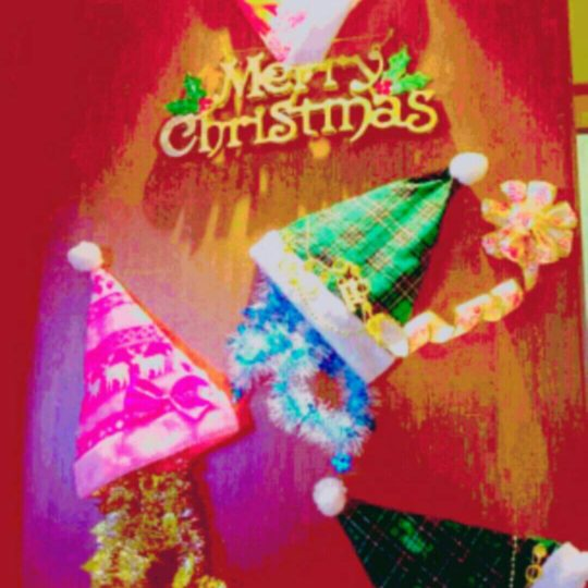 Christmas hat Android SmartPhone Wallpaper