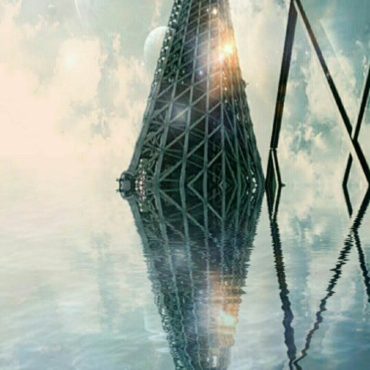 Tower submerged Android SmartPhone Wallpaper