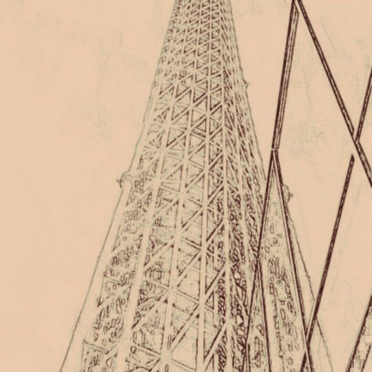 Tower sketch Android SmartPhone Wallpaper