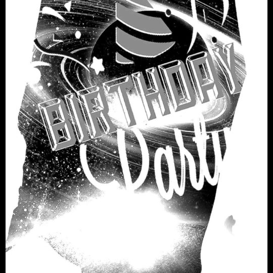 Birthday party planet Android SmartPhone Wallpaper