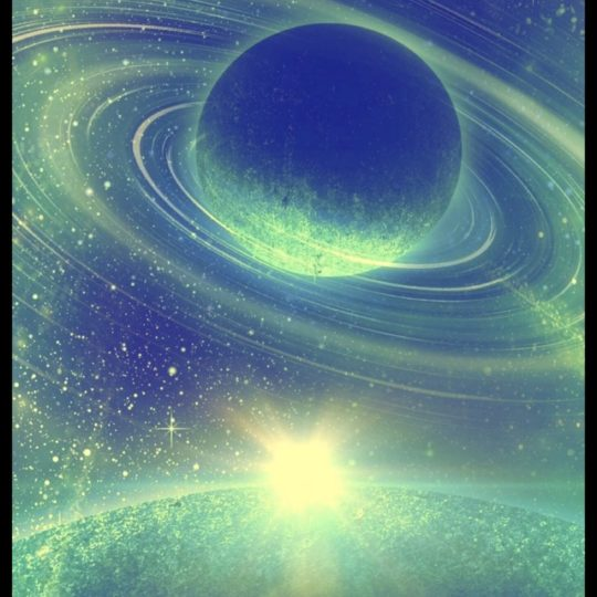 Planetary light Android SmartPhone Wallpaper