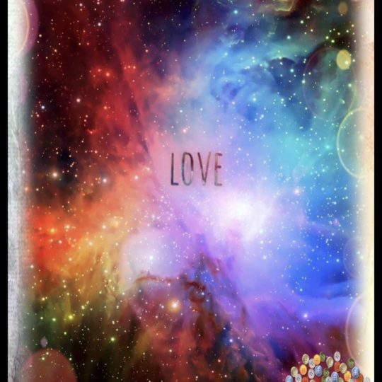 Space Love Android SmartPhone Wallpaper