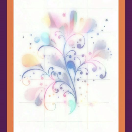 Flower purple Android SmartPhone Wallpaper