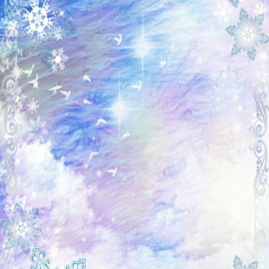 Sea snow Android SmartPhone Wallpaper