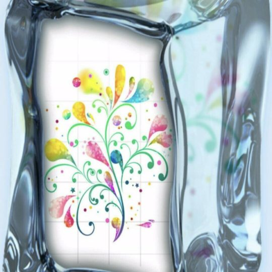 Flower cube Android SmartPhone Wallpaper