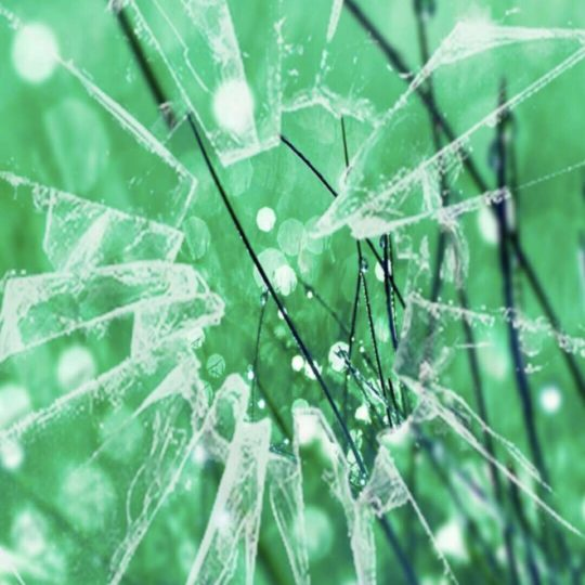 Glass green Android SmartPhone Wallpaper