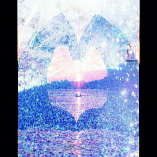 Heart Landscape Android SmartPhone Wallpaper