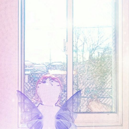Window side fairy Android SmartPhone Wallpaper