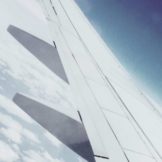Airplane Sky Android SmartPhone Wallpaper