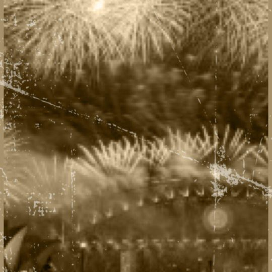 Fireworks Sepia Android SmartPhone Wallpaper