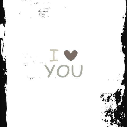 Love Black And White Android SmartPhone Wallpaper