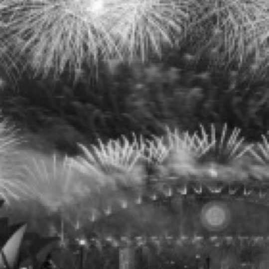 Fireworks monochrome Android SmartPhone Wallpaper