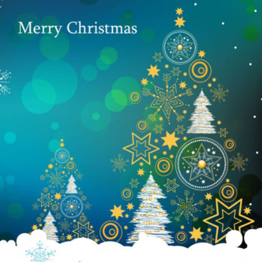 Christmas tree Android SmartPhone Wallpaper