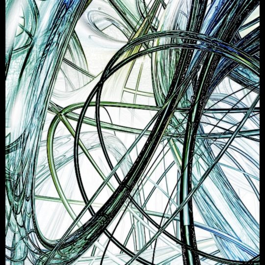 Spiral sketch Android SmartPhone Wallpaper