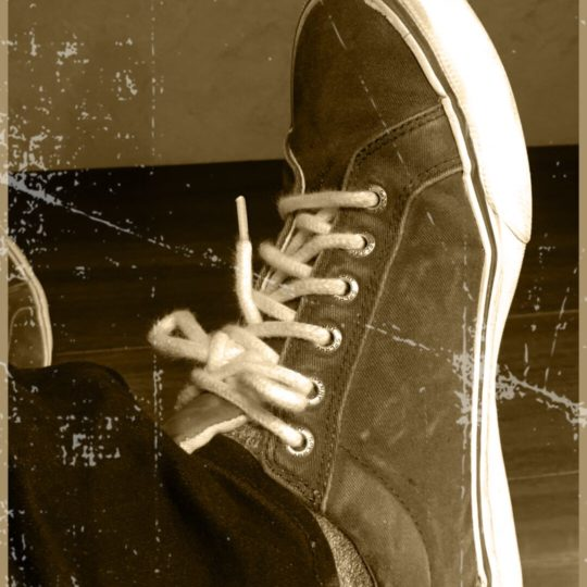 Sneakers Sepia Android SmartPhone Wallpaper