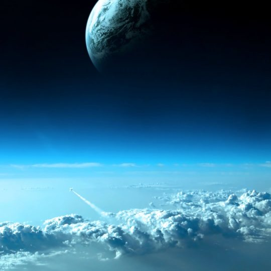 Landscape Earth and Space Android SmartPhone Wallpaper