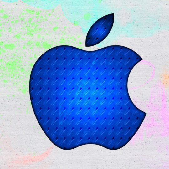 Apple blue Android SmartPhone Wallpaper