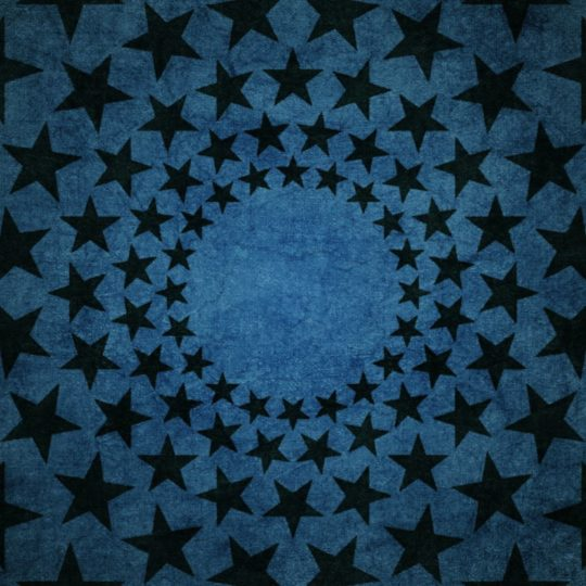 Black star pattern Android SmartPhone Wallpaper