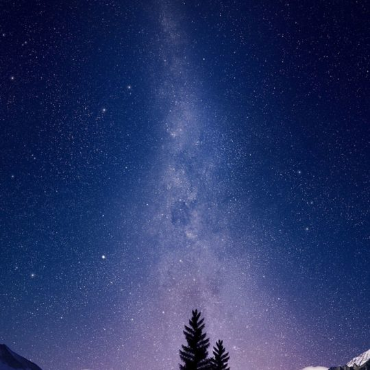 Landscape night sky Android SmartPhone Wallpaper