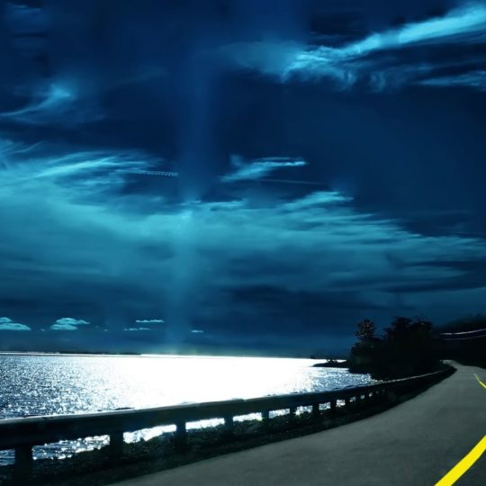 Landscape road Android SmartPhone Wallpaper