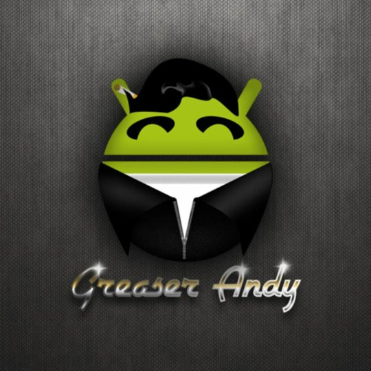 Android logo black Android SmartPhone Wallpaper