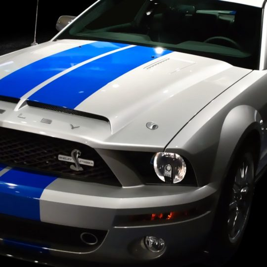 Vehicle car white blue Android SmartPhone Wallpaper