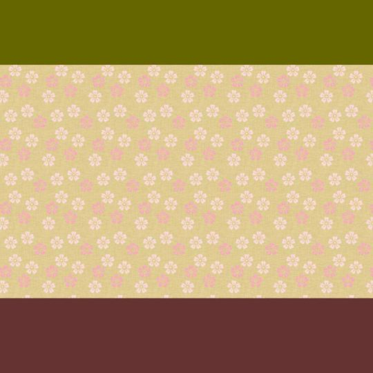 Pattern green tea flower Android SmartPhone Wallpaper