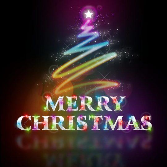 Christmas logo Android SmartPhone Wallpaper