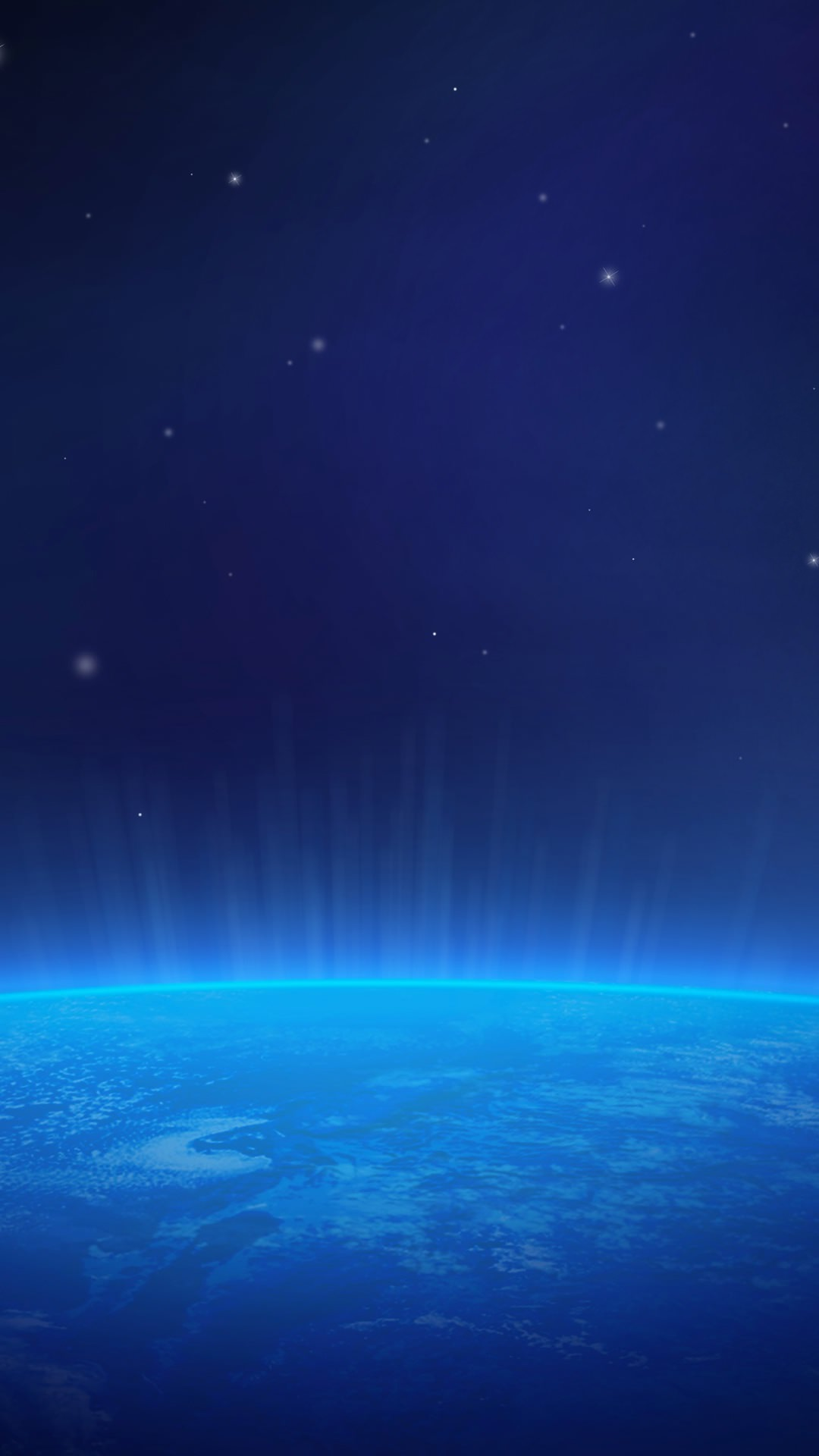 earth and space blue wallpapersc smartphone