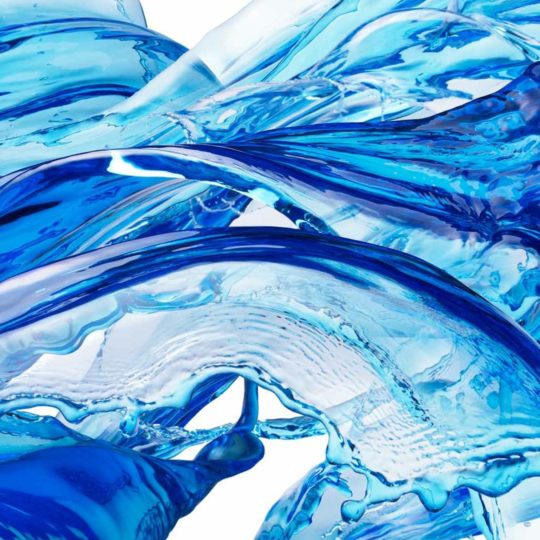 Cool blue water Android SmartPhone Wallpaper