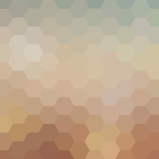 Pattern orange blue Android SmartPhone Wallpaper