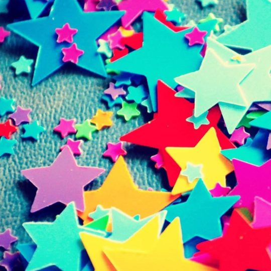 Colorful star Android SmartPhone Wallpaper