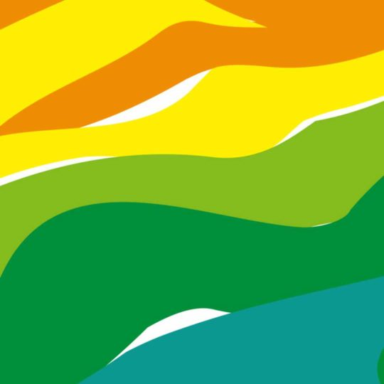 Pattern red orange yellow, green, and blue Android SmartPhone Wallpaper