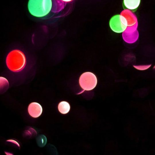 Pattern light dot red-green black Android SmartPhone Wallpaper