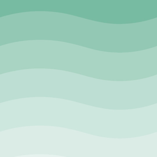 Wave pattern gradation Blue green Android SmartPhone Wallpaper